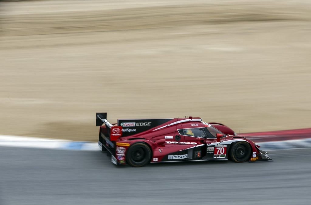 Front-row Qualifying at Mazda Raceway