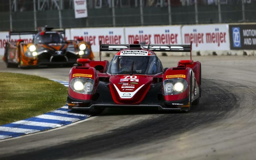 Third and Fourth for Mazda at Detroit!