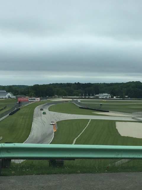 Overlooking Turn 14 during MX-5 Cup testing.