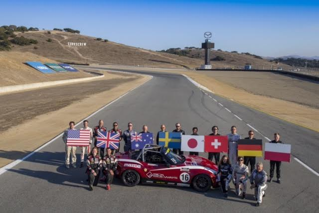 Inaugural Mazda Global MX-5 Cup Invitational