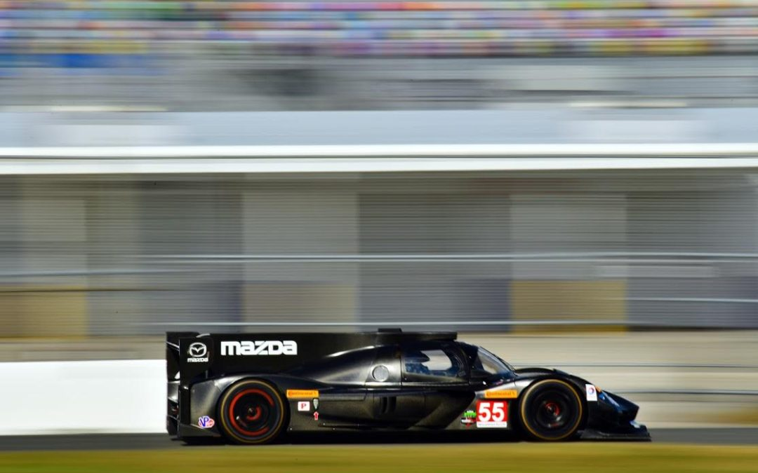 First Daytona Test in the Mazda RT24P