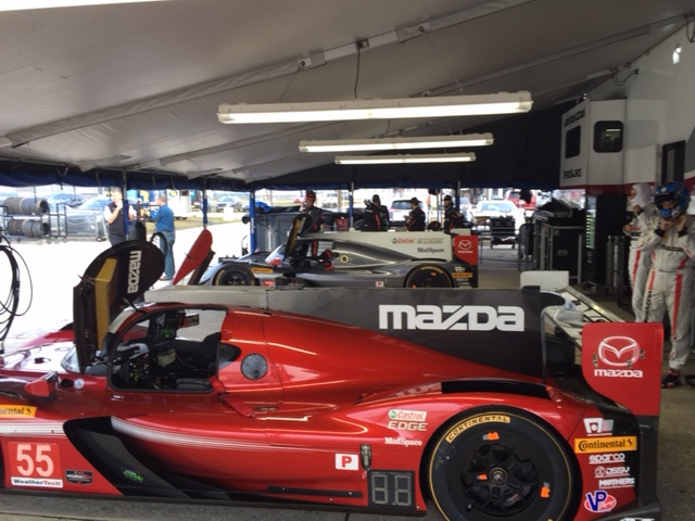 New Tires, New Teammate at Sebring Test