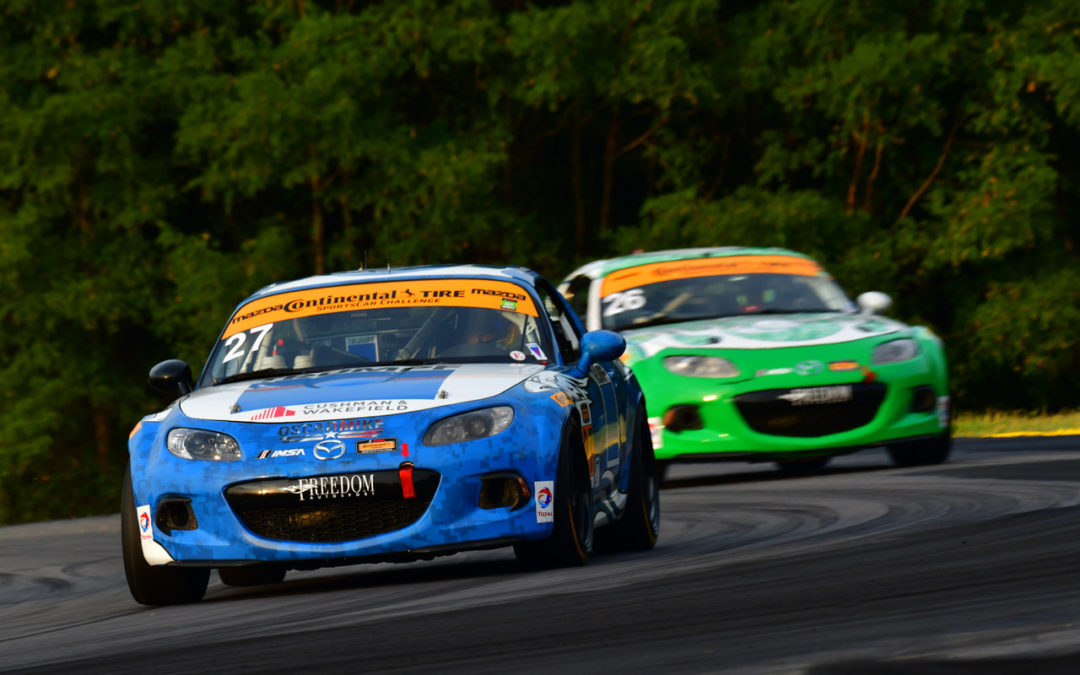 Intense Racing in the Continental Tire Series at VIR