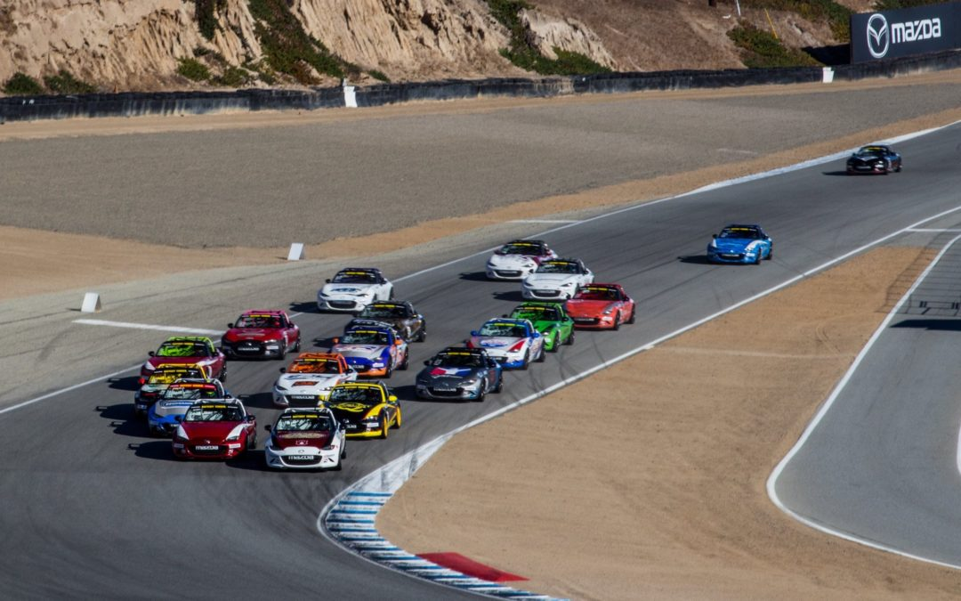 Final Round for the Global Mazda MX-5 Cup Championship at Mazda Raceway Laguna Seca