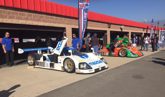 Driving the Historic Mazda 787B at Seven Stock