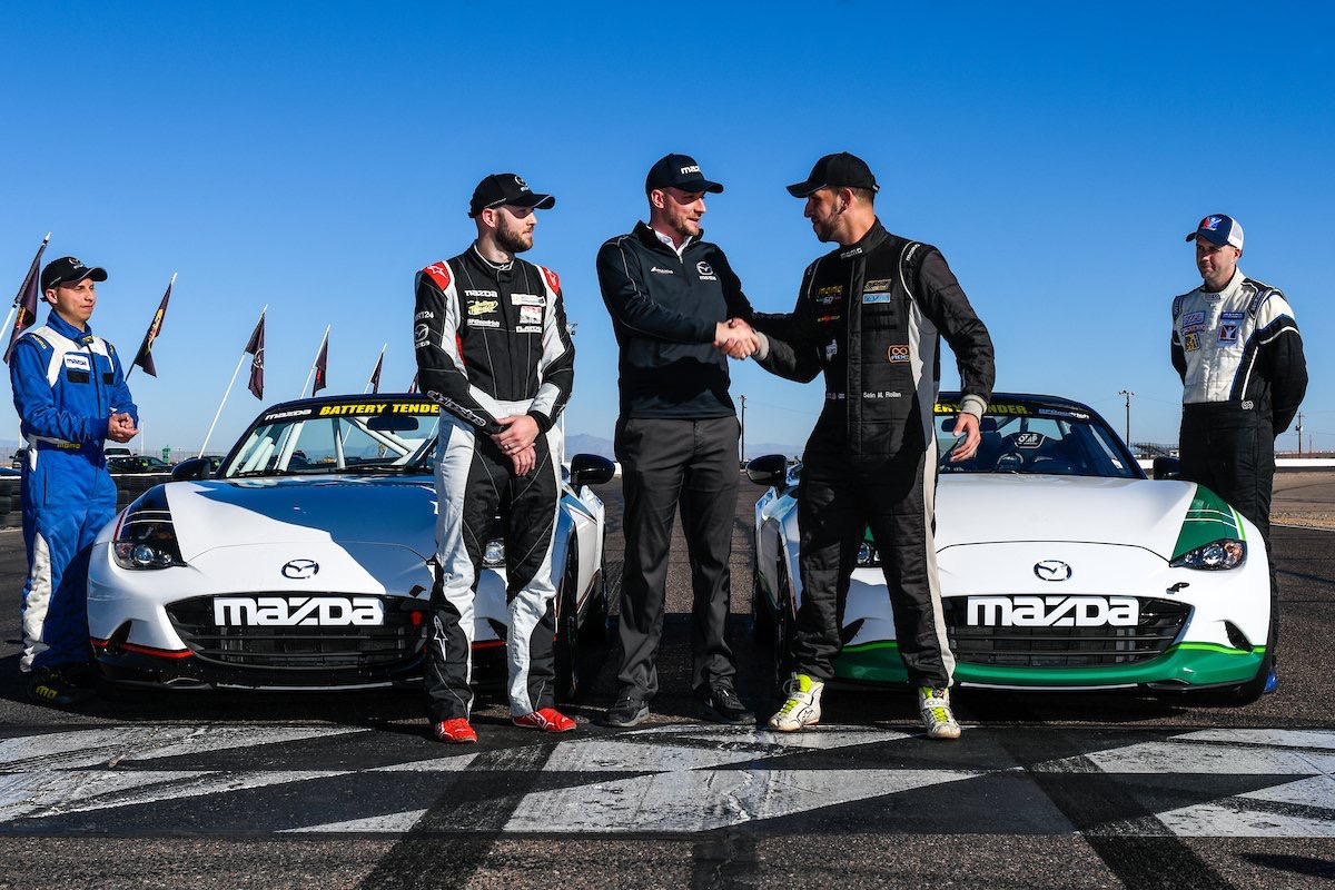 Selin Rollan was awarded the $100k MRT24 scholarship in the end for 2018 Global MX-5 Cup competition.