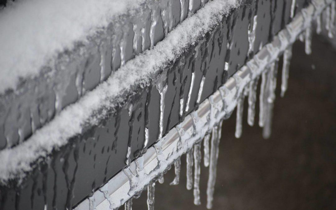 Snow and Ice on the Way to Daytona!