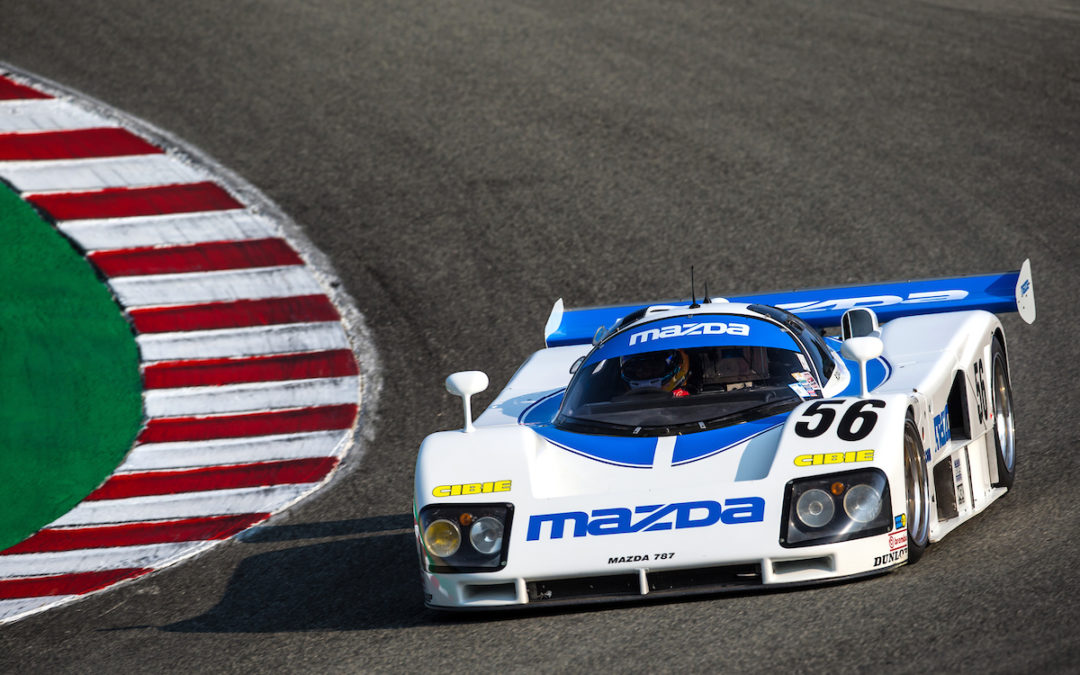 Driving the Iconic Mazda 787 Prototype