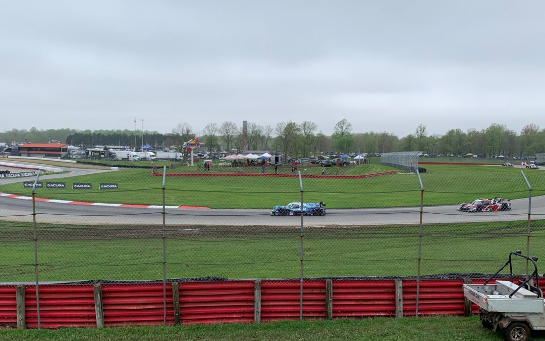 Slippery, Soggy Hot Laps at Mid-Ohio