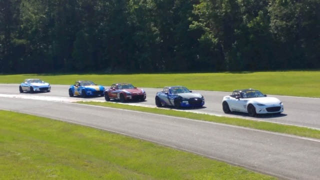 Summer Drafting in MX-5 Cup