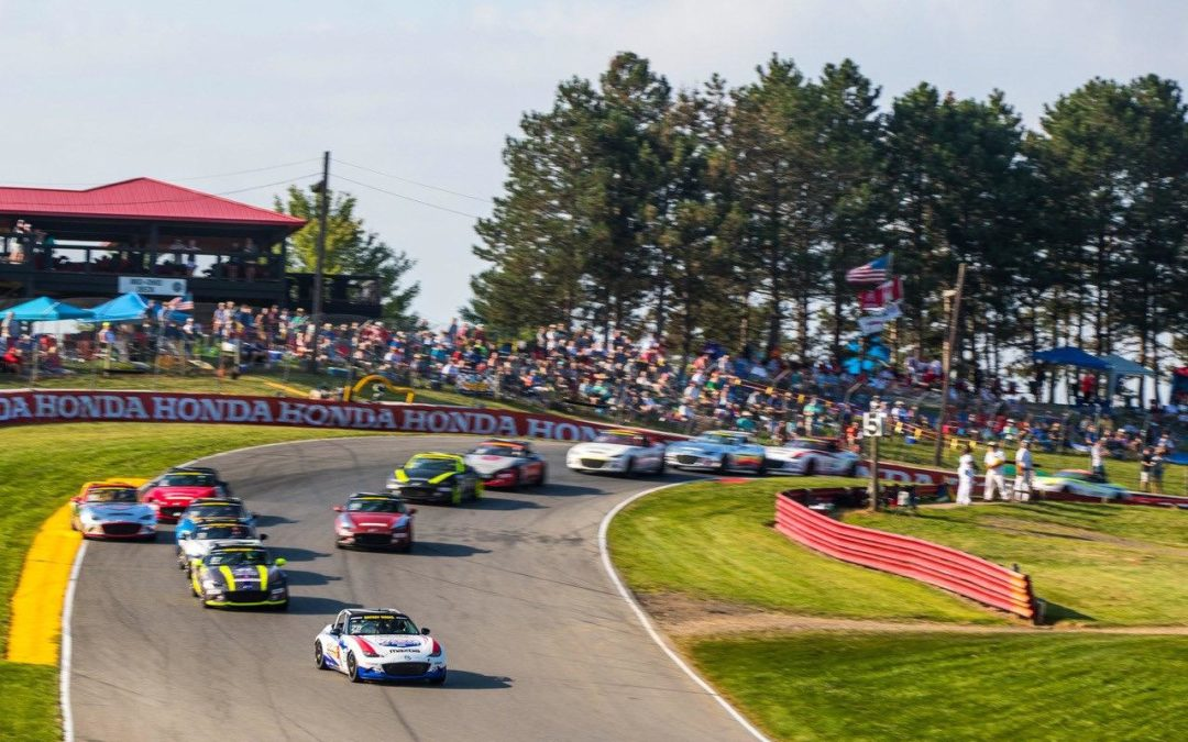 Close Competition in Global MX-5 Cup at Mid-Ohio