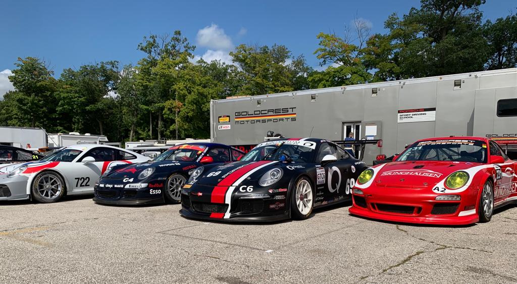 I was recently at Road America with my good friends, who achieved some of their personal bests throughout the event.