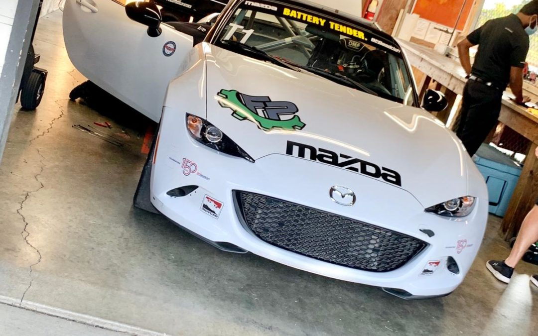 Photo Diary: Testing the Mazda MX-5 Cup Car at Mid-Ohio