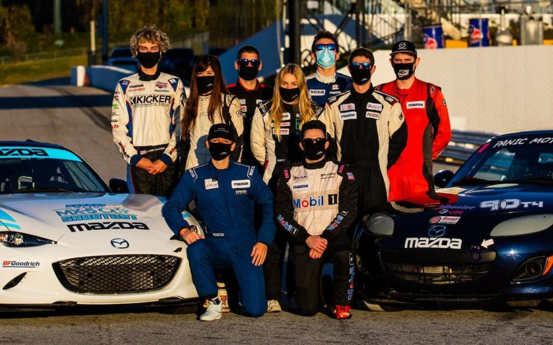 More Winners Than Ever at the Mazda MX-5 Cup Shootout