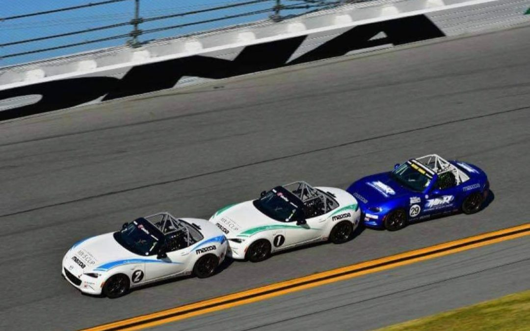 Drafting at Daytona: A Thrilling MX-5 Cup Test