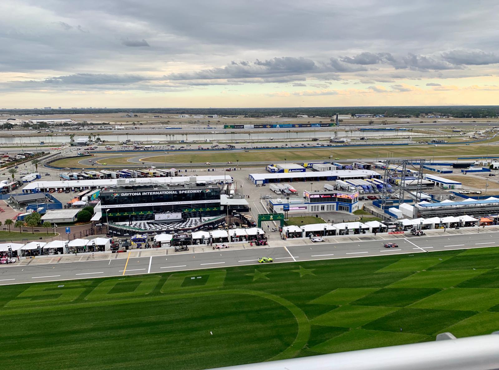 Overlooking Daytona International Speedway never gets old!