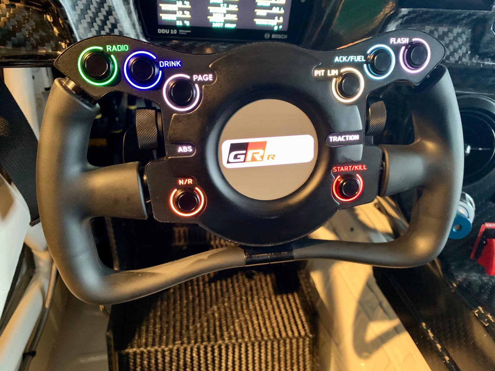 The new Supra is very well thought out ergonomically and has a variety of in-cockpit adjustments for the driver.