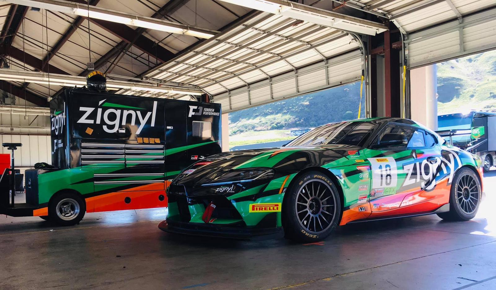 Forbush Performance is competing with the new Supra GT4 in the SRO SprintX series.