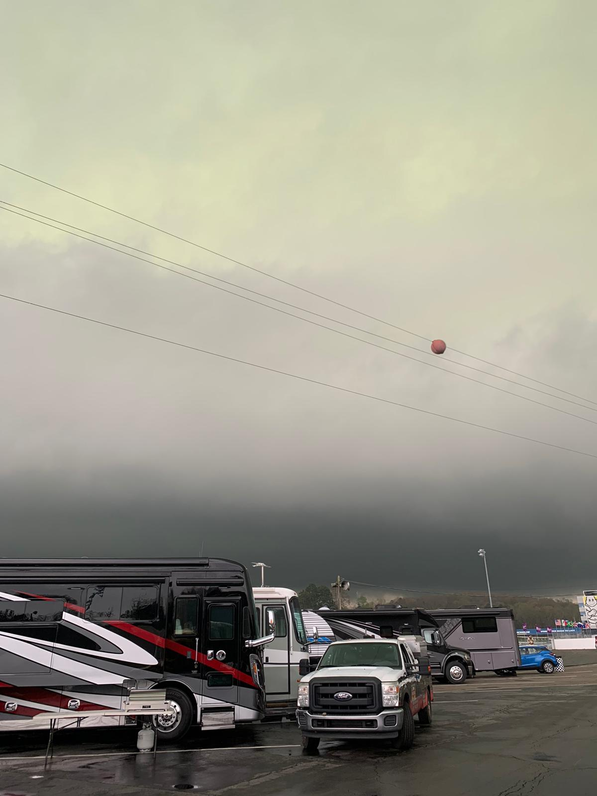 Some crazy storms rolled in during my previous visit to Road Atlanta!