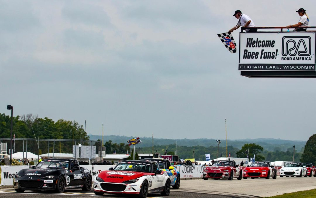 Podiums and a Photo Finish at Road America