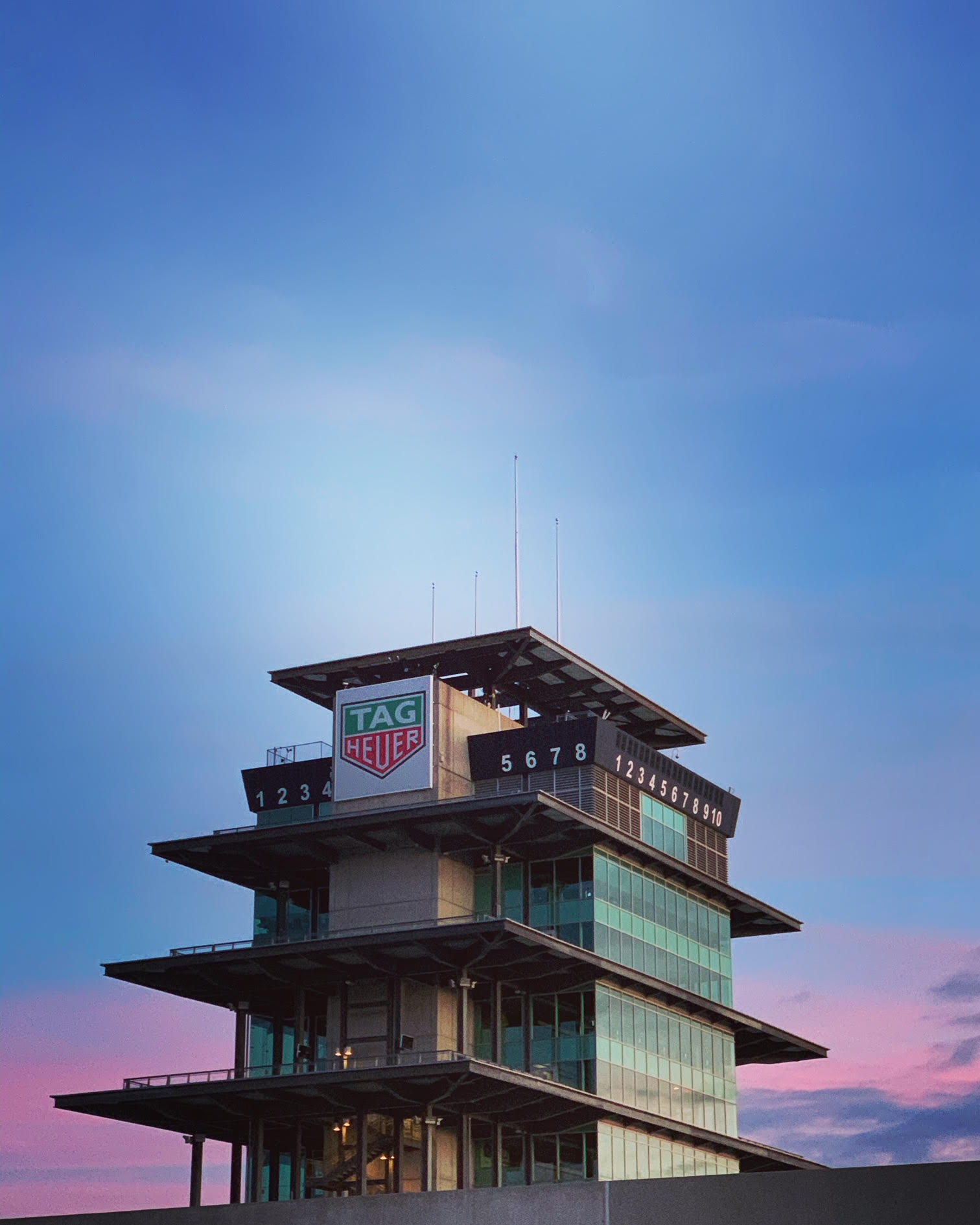 Another one of the iconic structures at IMS, the Pagoda.