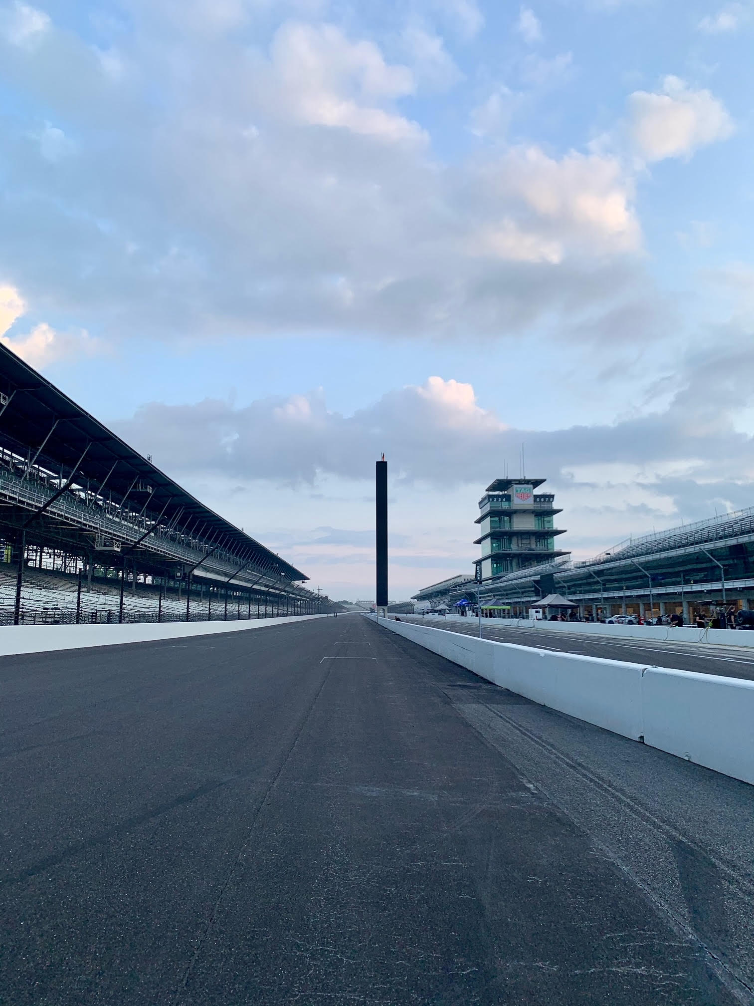 Trackwalks are always a key component to learning a new circuit. Doesn't get much better than this one, walking over the yard of bricks!
